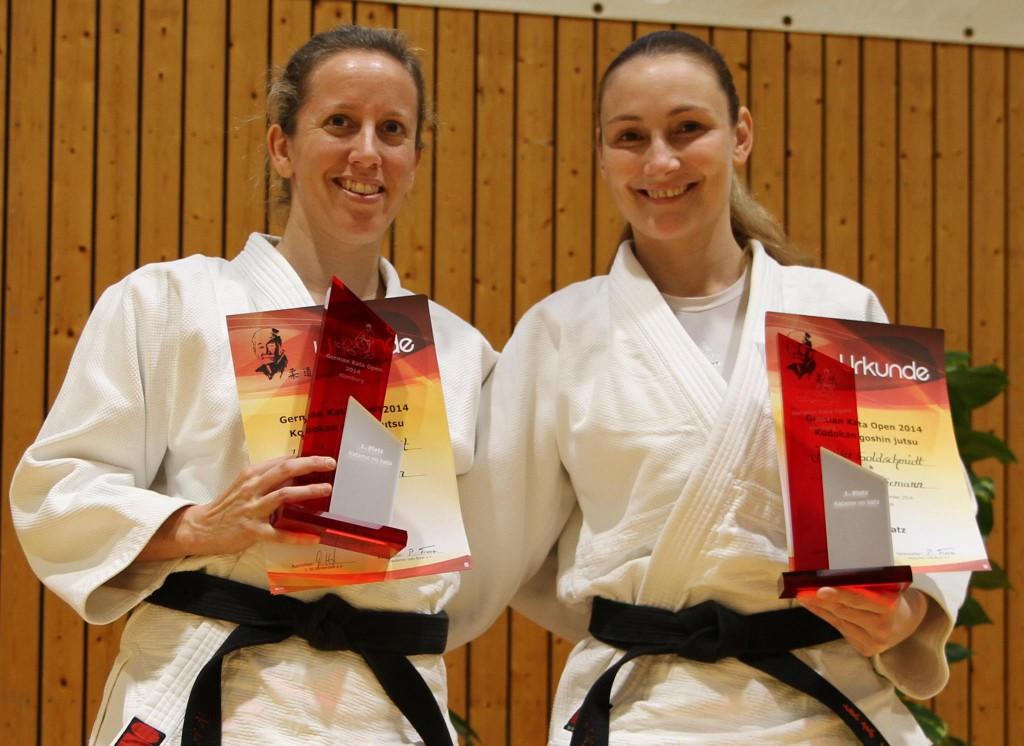 Jenny Goldschmidt und Kim Thiemann