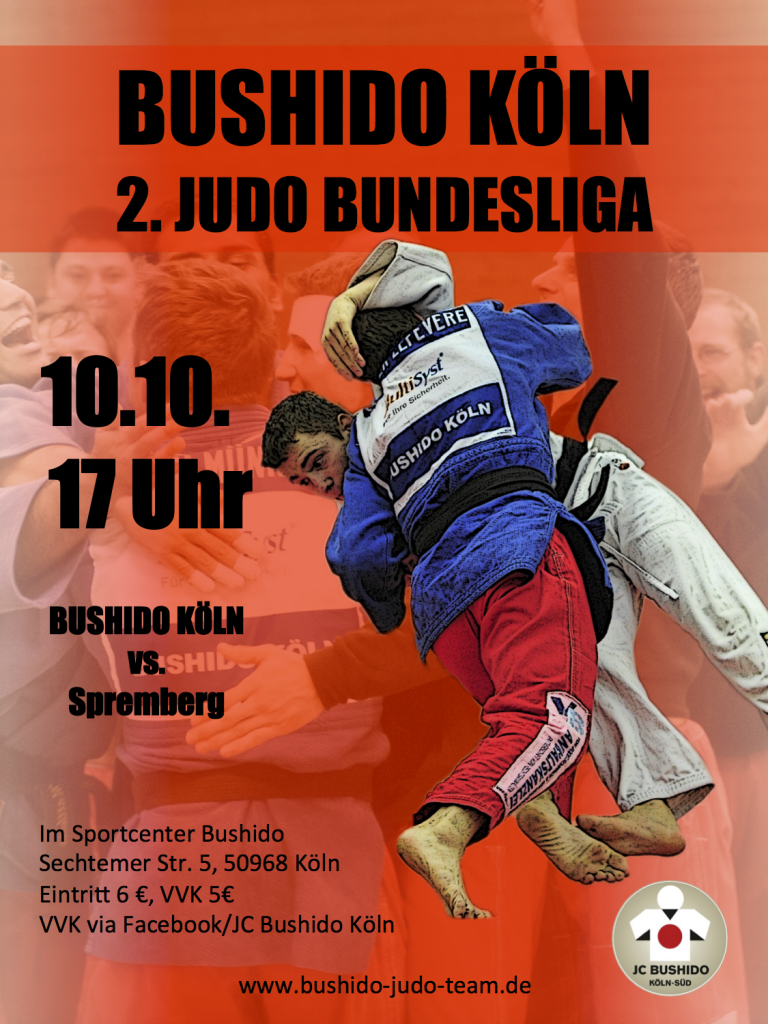 Flyer Bushido Köln vs. Spremberg